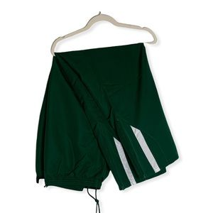 NWT Russell Green Striped Athletic Pants